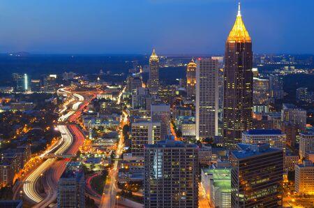SKyline of Atlanta, Georgia