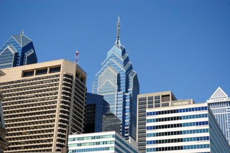 Philidelphia skyline at Center City