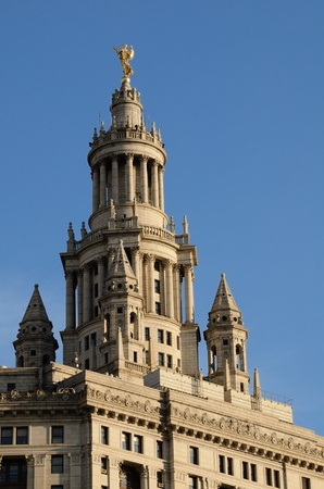 Top of the New York City Municipal Building Stock Photo - 11245721