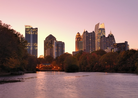 midtown atlanta skyline photo