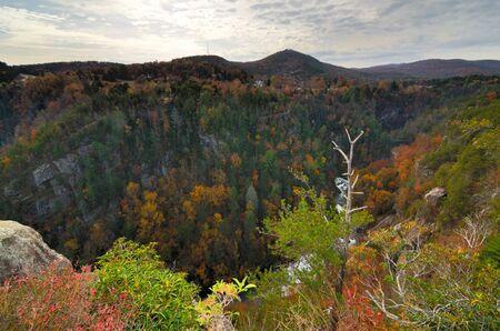 northeast: Tallulah Gorge in Northeast Georgia, USA.