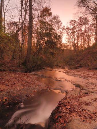 autumn river scene Stock Photo - 11510613