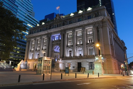 October 10, 2010: The Alexander Hamilton Customs House in New York City in lower Manhattan.