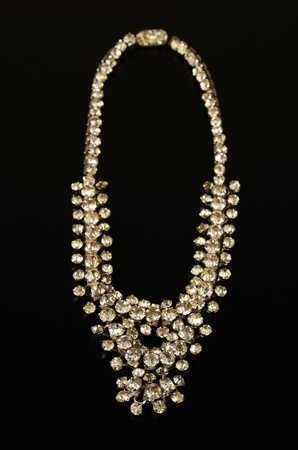 A necklace with diamonds Imagens
