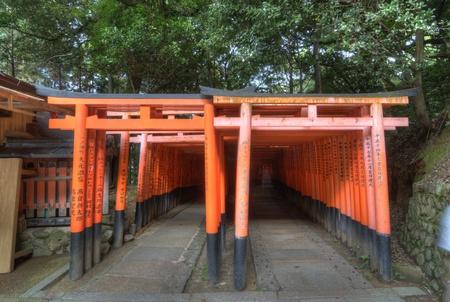KYOTO, JAPAN - JULY 11, 2011: Fushimi Inari Shrine Sajtókép