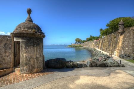 fortress: Fort San Felipe del Morro in San Juan, Puerto Rico