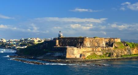 puerto rico: Paseo Del Moro Fort at San Juan, Puerto Rico