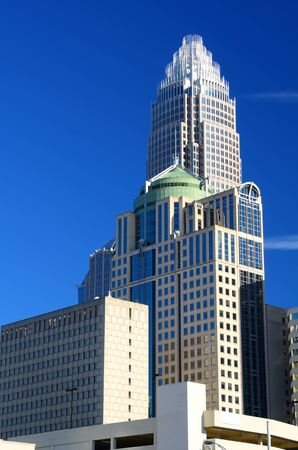 skyline of charlotte, north carolina photo
