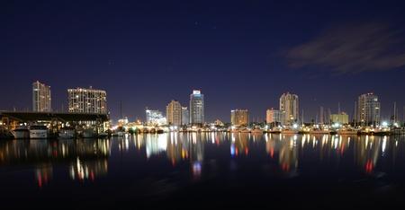 Skyline of St. Petersburg, Florida Stock Photo - 11890513