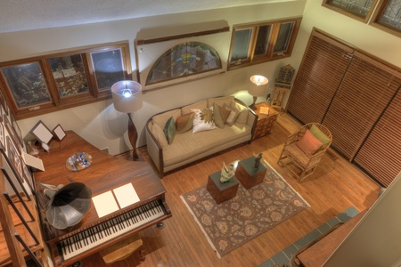 Interior of a residential living room Editorial