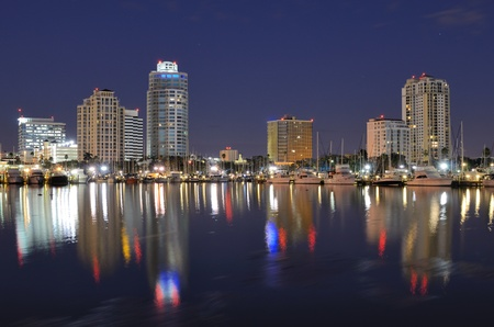 st petersburg: Skyline of St. Petersburg, Florida