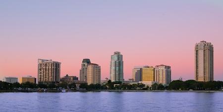 st  pete: Skyline of St. Petersburg, Florida