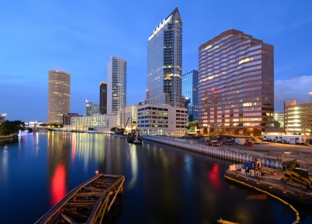 skyline of downtown Tampa, Florida photo