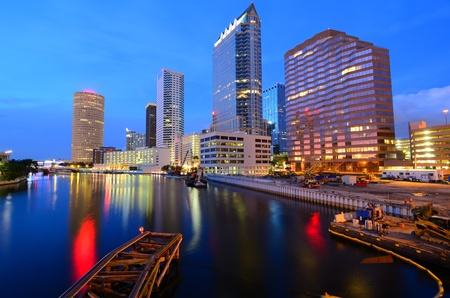 skyline of downtown Tampa, Florida Stock Photo - 11890575