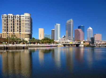 skyline de la ciudad de Tampa, Florida
