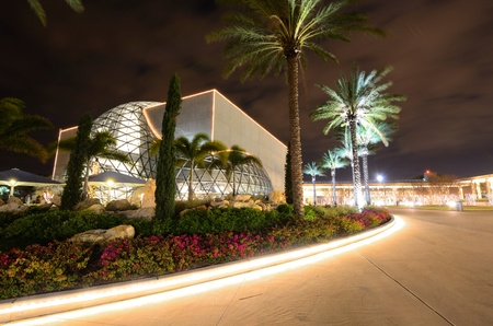 ST. PETERSBURG, FLORIDA - DECEM BER 26: Exterior of the Salvador Dali Museum December 26, 2011 in St. Pete, FL. The museum  houses the largest collection outside Europe of the works of Salvador Dal'. Stock Photo - 11817695