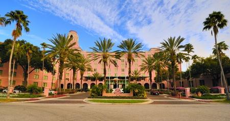 st  pete: ST. PETERSBUG, FLORIDA - DECEMBER 29: Vinoy Hotel December 29, 2011 in St. Petersbug, FL. Built in 1925, it is on the U.S. National Register of Historic Places.
