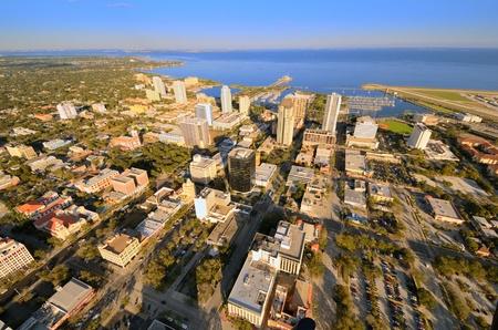 pinellas: Aerial view of St. Petersburg, Florida