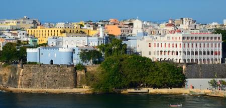 Skyline von San Juan, Puerto Rico