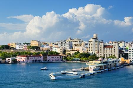 Skyline of San Juan, Puerto Rico Stock Photo - 12200968