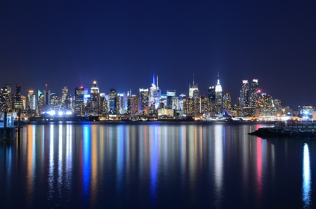 View of the spectacular Manhattan Skyline