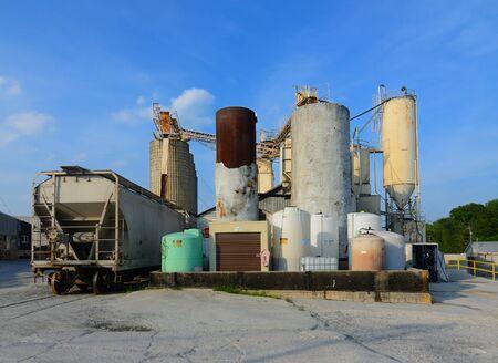 Industrial Cement Plant Sajtókép