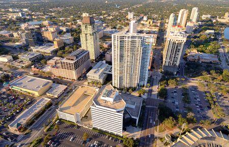 st  pete: Aerial View of St. Petersburg, Florida.