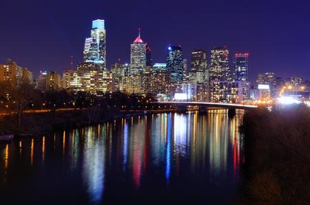 pennsylvania: Skyline of downtown Philadelphia, Pennsylvania  Stock Photo