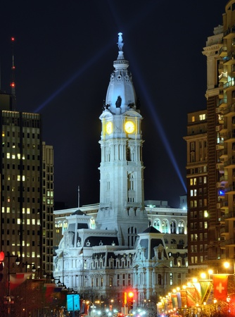 Philadelphia City Hall building  photo