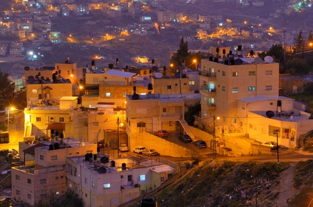 Arab Village in Jerusalem, Israel  Banco de Imagens