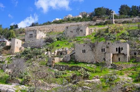 Lifta, een Jeruzalem dorp dat werd door de Palestijnen verlaten tijdens de Israëlische Onafhankelijkheidsoorlog