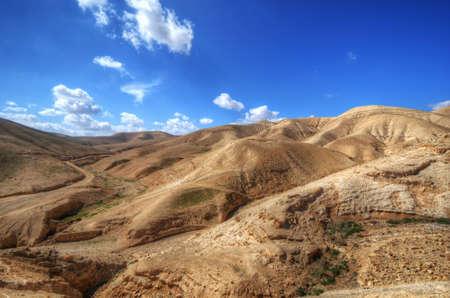 Desert landscape near Jerusalem, Israel. Stock Photo - 12727450
