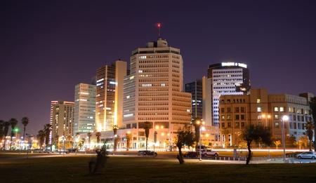tel aviv: Skyline of Tel Aviv, Israel. Stock Photo