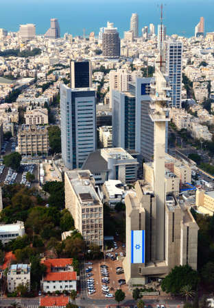 Aerial view of the City of Tel Aviv, Israel Stock Photo - 12731945