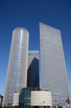 azrieli center: TEL AVIV - FEBRUARY 21: Azrieli Center February 21, 2012 in Tel Aviv, IL. At  187m, the round building is the tallest in Tel Aviv.
