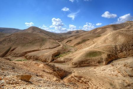 Desert landscape near Jerusalem, Israel.