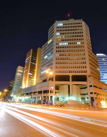 Skyline of Tel Aviv, Israel. photo