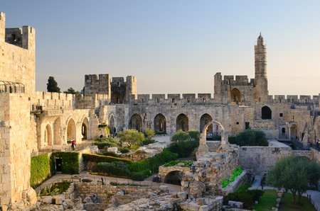 believed: Dating from 2nd Century BCE, the Tower of David is so named because Byzantine Christians believed the site to be the palace of King David. The current structure dates from the 1600s. Editorial