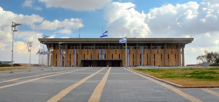 knesset: JERUSALEM - FEBRUARY 25: The Knesset February 25, 2012 in Jerusalem, IL. Convened The Knesset passes all laws, elects the President and Prime Minister and supervises the work of the government.