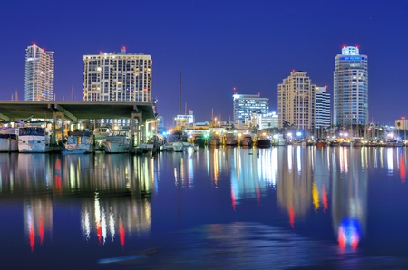 st petersburg: Skyline of St. Petersburg, Florida