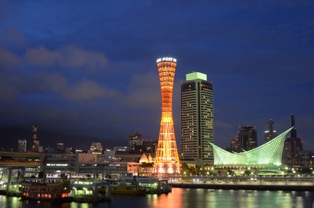 Port of Kobe, Japan Skyline