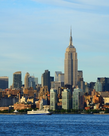 Landmark architecture in midtown Manhattan