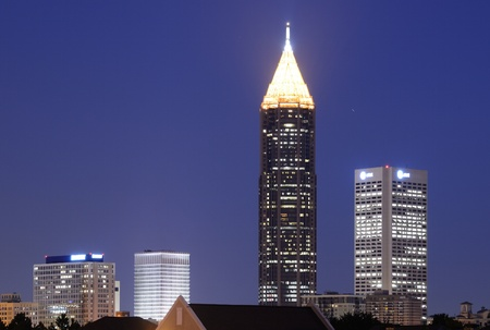Skyline of Downtown Atlanta photo