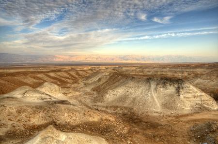 judaean: Hills of the Judaean Desert in Israel Stock Photo
