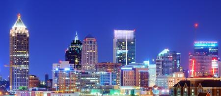 Skyline of downtown Atlanta, Georgia Stock fotó