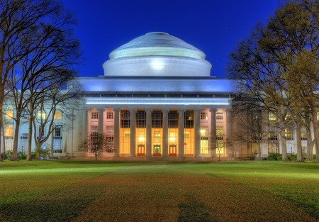 mit: Great Dome of the Massachusetts Institute of Technology in Cambridge, MA