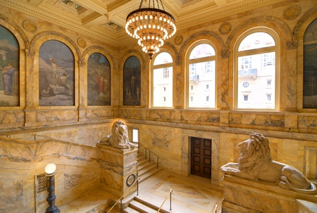 Boston Public Library was the first publicly supported municipal library in the United States.