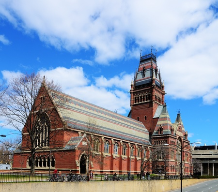 Memorial Hall at Harvard University in Boston, Massachusetts  Memorial Hall was erected in honor of Harvard graduates who fought for the Union in the American Civil War  Editorial