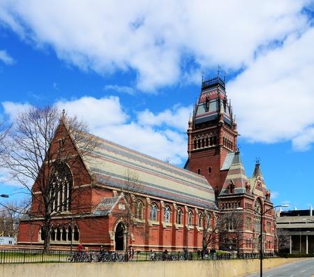 harvard university: Memorial Hall at Harvard University in Boston, Massachusetts  Memorial Hall was erected in honor of Harvard graduates who fought for the Union in the American Civil War  Editorial