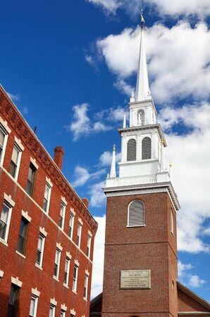 revere: Old North Church in Boston, Massachusetts  The church is famed for Paul Revere
